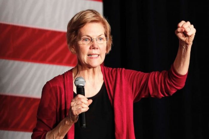 Elizabeth Warren Says She'll Abolish Electoral College Before Second Term As President