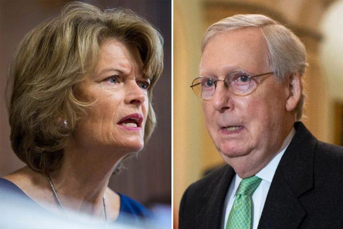 Republican Senator 'Disturbed' by Mitch McConnell's Plans for Senate Impeachment Trial