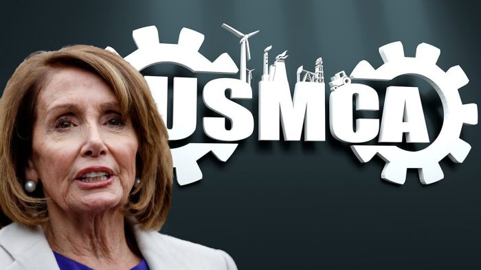 Pelosi Hands Trump Huge Win, Announces Plan To Pass USMCA