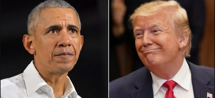 President Trump Tied With Obama For 'Most Admired Man' In 2019