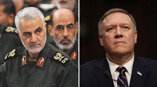 Pompeo Reveals Soleimani Was Planning 'Eminent' Attack to Kill Hundreds of Americans (Video)