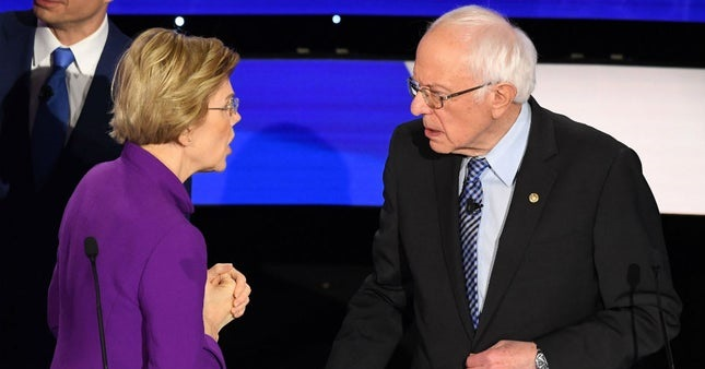 Audio Released of Bernie, Warren Interaction After Dem Debate: 'I Think You Called Me A Liar' (Video)